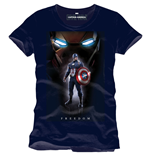 Captain America Civil War T-Shirt Freedom