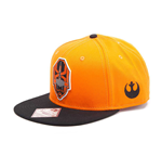 STAR WARS The Force Awakens Unisex X-Wing Resistance Logo Embroidered Patch Snapback Baseball Cap, One Size, Orange/Black