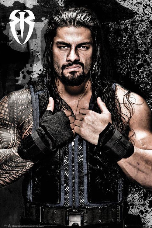Wwe Roman Reigns Maxi Poster For Only 163 3 94 At