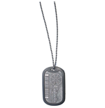 Resident Evil Dog Tag Necklace 198914