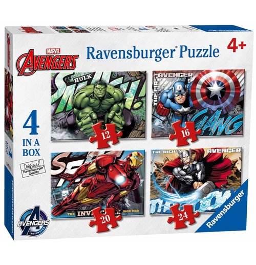 official the avengers puzzles 198973 buy online on offer