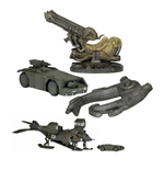 Alien Diecast Vehicles Cinemachines Series 1 Assortment (12)