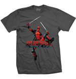 Deadpool T-Shirt Logo Jump