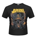 Asking Alexandria T-shirt Skull
