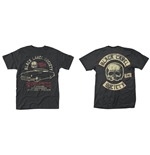 Black Label Society T-shirt Hell Riding Hot Rod