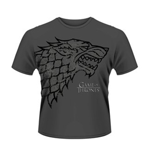 Game of thrones t shirt direwolf for only at for Game t shirts uk