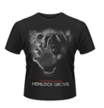 Hemlock Grove T-shirt Wolf Hand Red