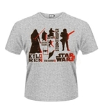 Star Wars The Force Awakens T-shirt Red Villains Character