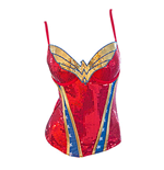 Women's WONDER WOMAN Sequin Corset