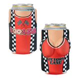 Victory Lane Boobzie Beer Can Koozie