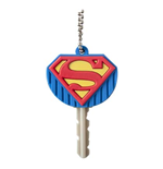 SUPERMAN Rubber Logo Key Holder