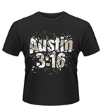 Wwe T-shirt Stone Cold Steve Austin Glass