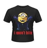 Minions T-shirt I WON'T Bite