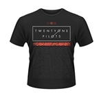 TWENTY-ONE Pilots T-shirt Scale Pattern Strip