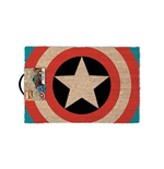 MARVEL COMICS Captain America Shield Door Mat, Multi-Colour