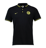 2015-2016 Inter Milan Nike Authentic League Polo Shirt (Black)