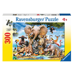 Ravensburger 13075 - Puzzle XXL 300 Pz - Animals of Africa