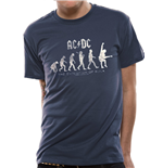 AC/DC T-shirt - Evolution Of Rock
