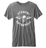 Avenged Sevenfold - BURN-OUT Death Bat Grey T-shirt