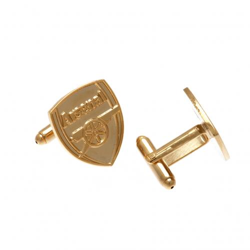 Arsenal F.C. Gold Plated Cufflinks