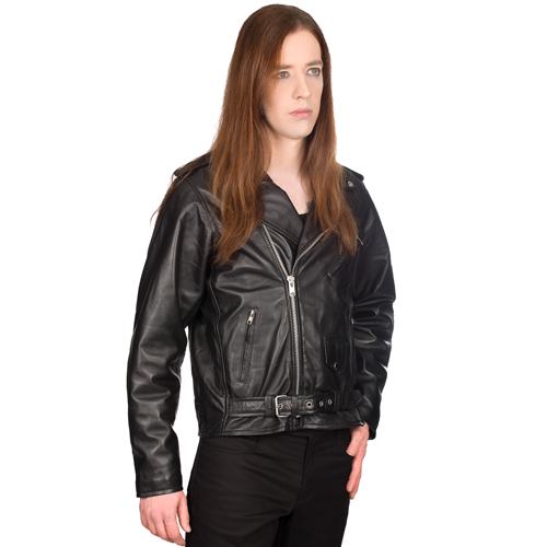 Mode Wichtig Mens Brando Jacket Nappa Leather