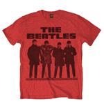 Beatles T-shirt - Long Tall Red