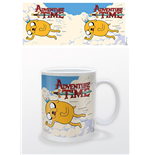 Adventure Time Mug - Jake And Finn Flying