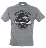 Green Day T-shirt - Converse Grey