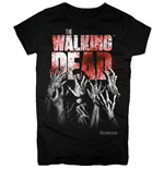 The Walking Dead T-shirt - Hands Blood Splatter Girls