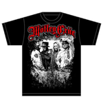 Mötley Crüe T-shirt - Greatest Hits Bandshot