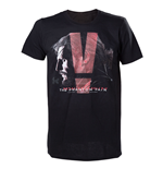 Metal Gear T-shirt - Black Phantom Pain