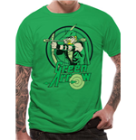 Green Arrow T-shirt - All The Heroes Circle