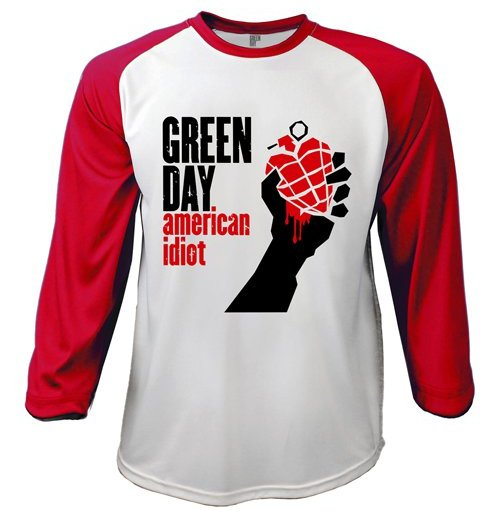 Green Day Long sleeves T-shirt 206813