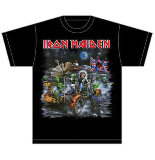 Iron Maiden T-shirt - Knebworth Moonbuggy