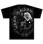 Iron Maiden T-shirt - Number Of The Beast Grey Tone