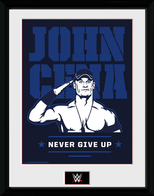 WWE John Cena Framed Collector Print