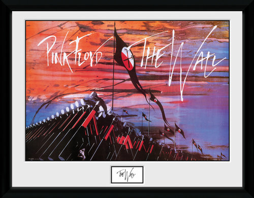 Pink Floyd Hammers Framed Collector Print