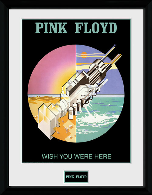 Pink Floyd Wish You Were Here 2 Framed Collector Print