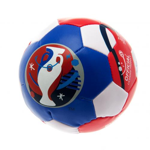 euro 2016 4 inch soft ball for only at. Black Bedroom Furniture Sets. Home Design Ideas
