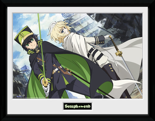 Seraph Of The End Swords Framed Collector Print