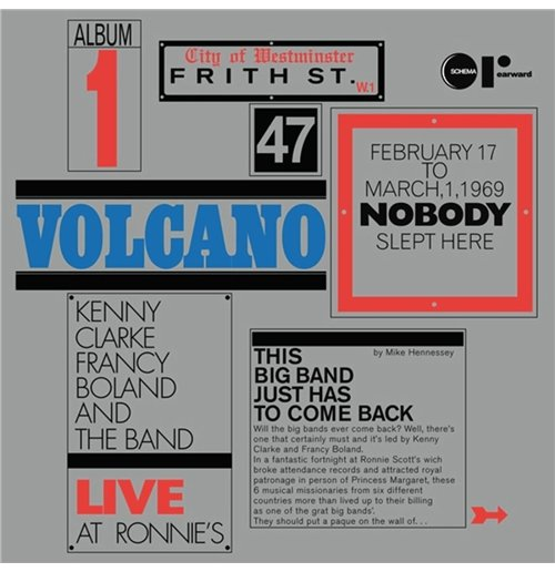 Vynil Kenny Clarke & Francy Boland Big Band - Volcano - Live At Ronnie's