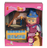 Masha and the Bear Doll - Wizard with magic trunk and accessories