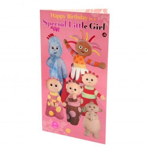 In the Night Garden Birthday Card Girl