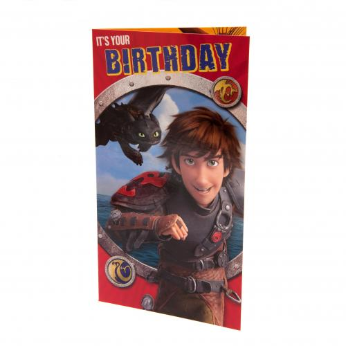 Dragons Birthday Card