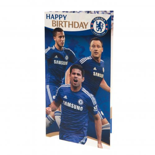 Chelsea F.C. Birthday Card Players