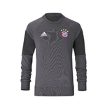 2016-2017 Bayern Munich Adidas Sweat Top (Granite)