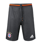 2016-2017 Bayern Munich Adidas Training Shorts (Solid Grey)