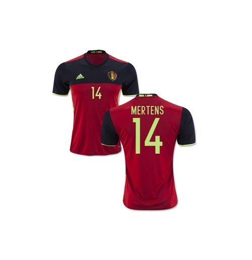2016-2017 Belgium Home Shirt (Mertens 14) - Kids