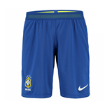 2016-2017 Brazil Nike Away Match Shorts (Blue)