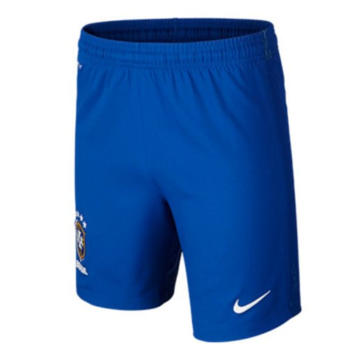 Official 2016 2017 Brazil Nike Away Shorts Blue Buy